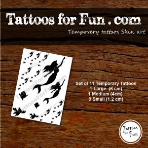 tattoos-for-fun-com-littel-mermaid-11-set