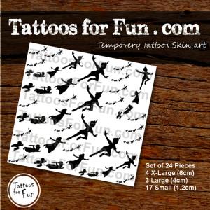 tattoos-for-fun-com-peter-pan-set-of-24-tattoos