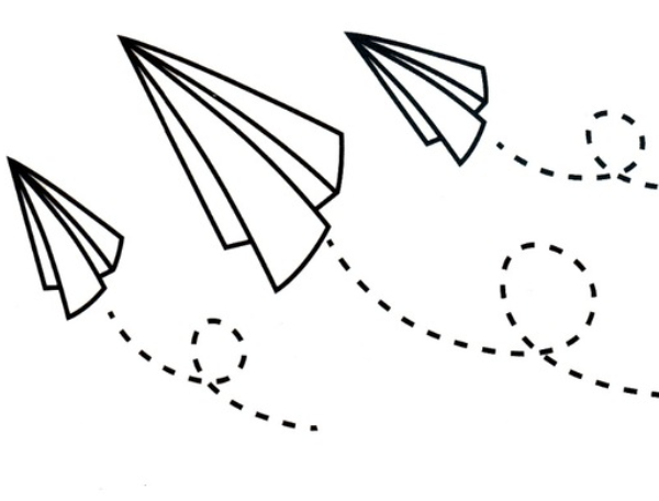Paper Airplane Temporary Tattoo Archives Tattoos For Fun