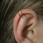 brass-double-ring-fake-ear-piercing
