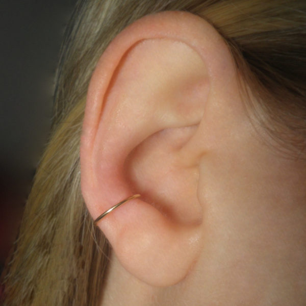 brass-ear-piercing