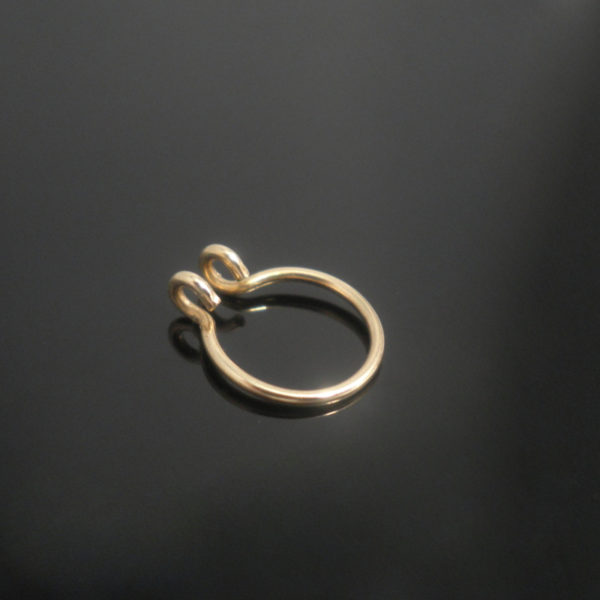 gold-plain-fake-septum