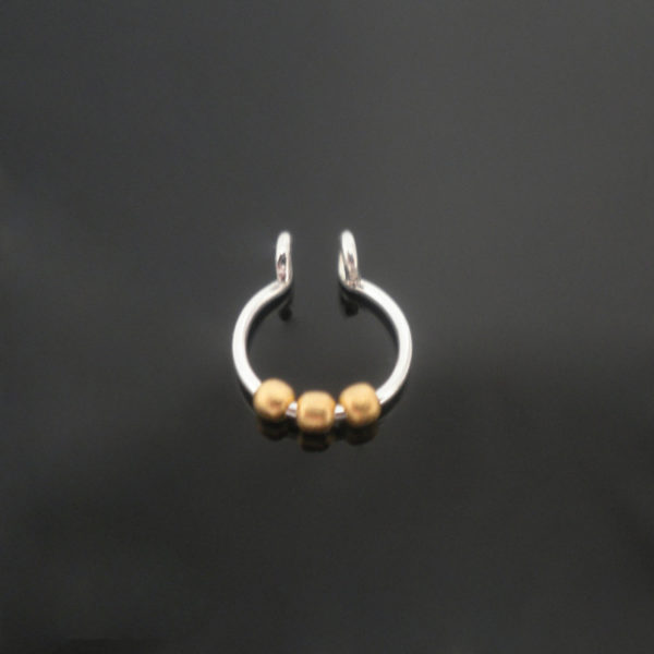 sterling-silver-3-gold-balls-fake-septum