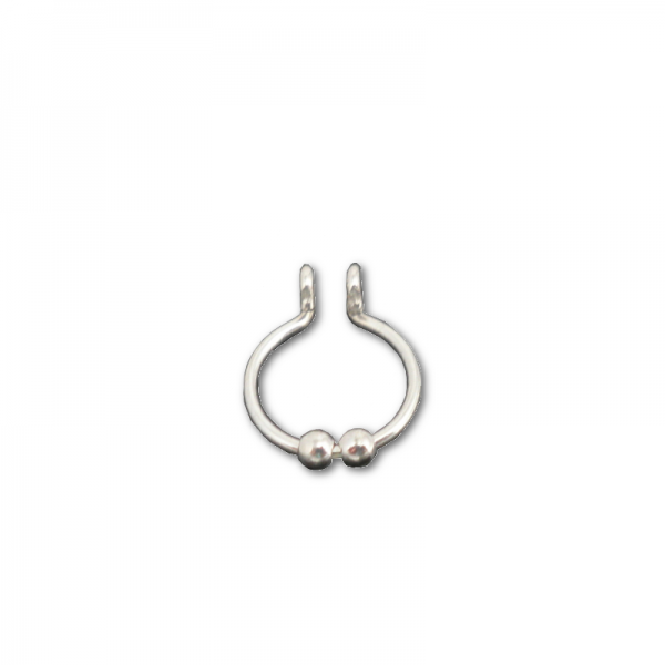 sterling-silver-fake-septum-with-two-beads