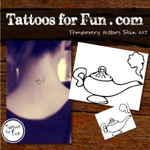 tattoos-for-fun-Genie-lamp-temporary-tattoo