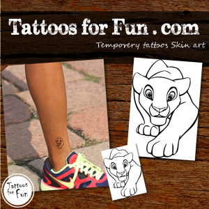 tattoos-for-fun-Nala-lion-king-temporary-tattoo