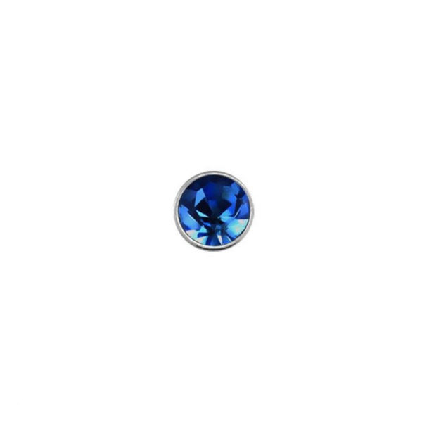 925 Sterling Silver Nose Studs 22g (0.6mm) With A 1.5mm Cubic Zirconia Stone-11