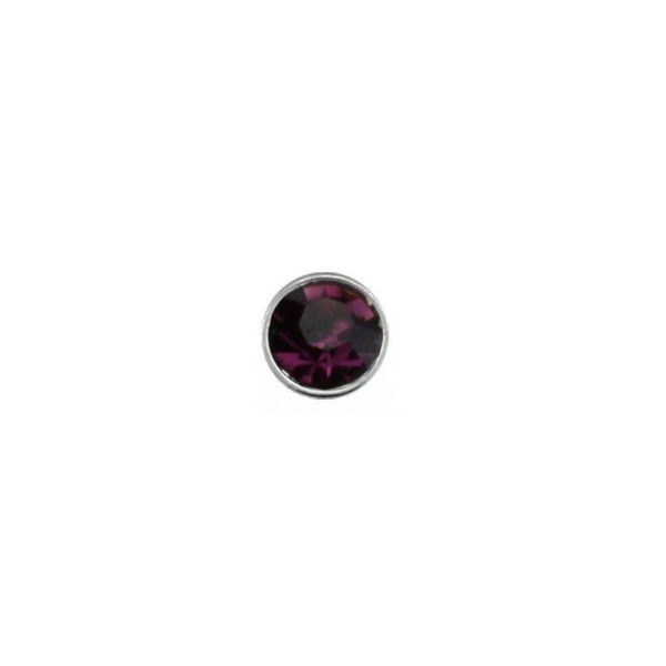 925 Sterling Silver Nose Studs 22g (0.6mm) With A 1.5mm Cubic Zirconia Stone-12