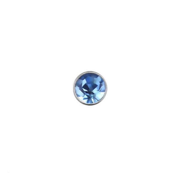925 Sterling Silver Nose Studs 22g (0.6mm) With A 1.5mm Cubic Zirconia Stone-14