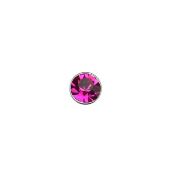 925 Sterling Silver Nose Studs 22g (0.6mm) With A 1.5mm Cubic Zirconia Stone-5