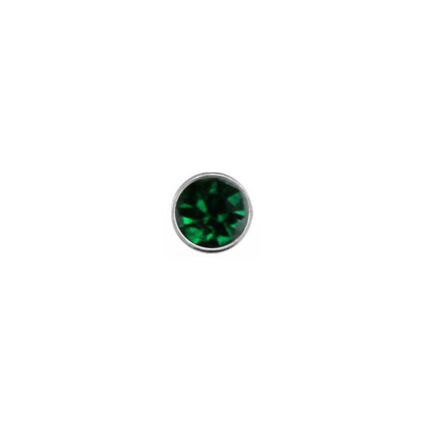 925 Sterling Silver Nose Studs 22g (0.6mm) With A 1.5mm Cubic Zirconia Stone-8