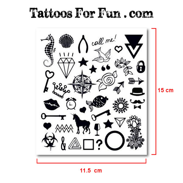 Ink water tattoos