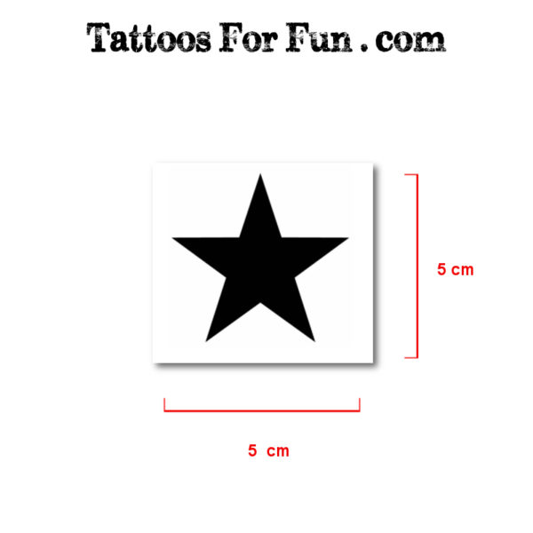 Stars Fake Tattoos