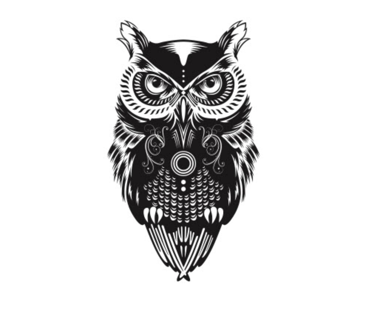 Owl Temporary Tattoos Set Tattoos For Fun
